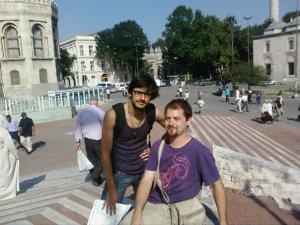 Con Juan, en Estambul