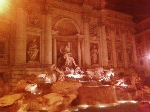La Fontana di Trevi, final de nuestro viaje