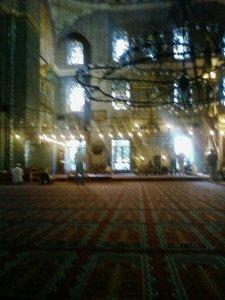 Interior de una mezquita