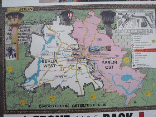 Berlín, partida por el muro