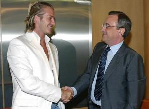 Florentino y Beckham
