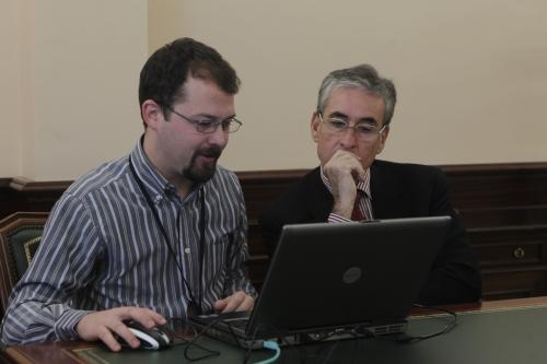 Entrevista con el ministro de Presidencia, Ramón Jáuregui