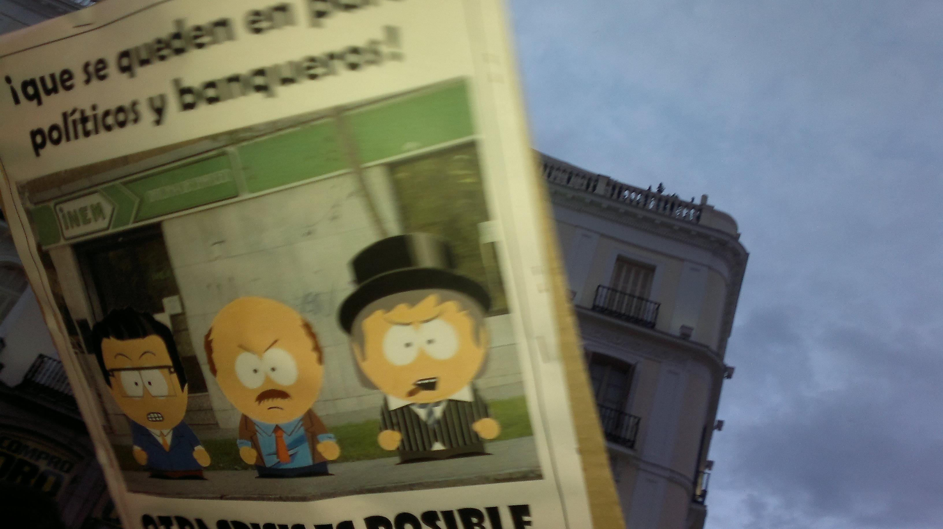 Carteles locodelpelorojo for Puerta del sol en directo ahora