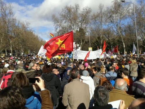 Manifestación por el derecho al aborto