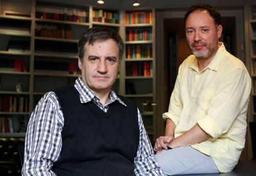 García Gascón (izq) y Cañete